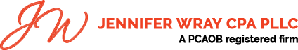 Jennifer Wray CPA PLLC Logo
